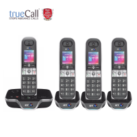 BT 8600 Advanced Nuisance Call Blocker Quad With Answer Machine